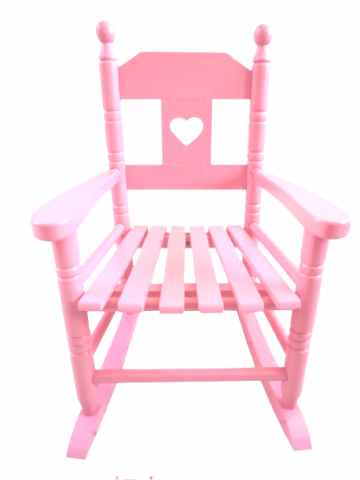 Rocking chair pink